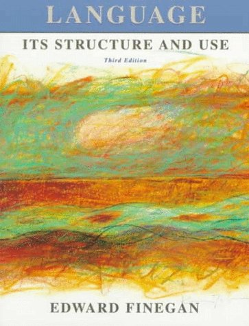 Language: Its Structure and Use