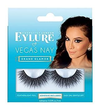 1fb95726d22 Eylure Vegas Nay Lashes, Grand Glamor: Amazon.co.uk: Beauty