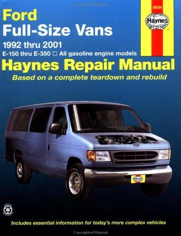 Ford Full Size Vans, 1992-2001 (Haynes Manuals) (1993 Van)