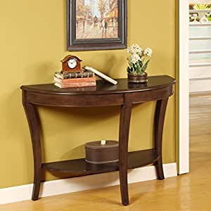 Sofa Table Half Round Kitchen Dining