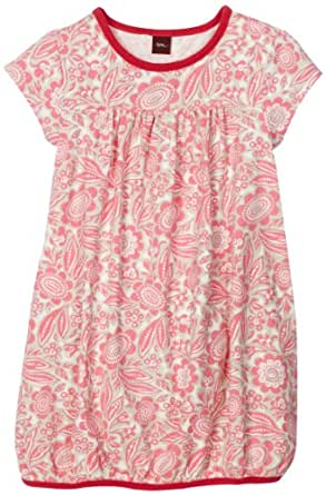 Tea Collection Little Girls' Botanic Garden Playdress, Neon Pink, 12