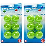 Evriholder PBZ-G Pong Ballz, Set of 2, Green