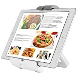 "desktop refrigerator mini - Adjustable iPad Stand Wall Mount - Kitchen Recipe Tablet Holder & 4 in 1 Desktop/Countertop Dock for 7"" to 10.1"" iPad 2017 Pro 9.7 Mini 4, Samsung Galaxy Tab"