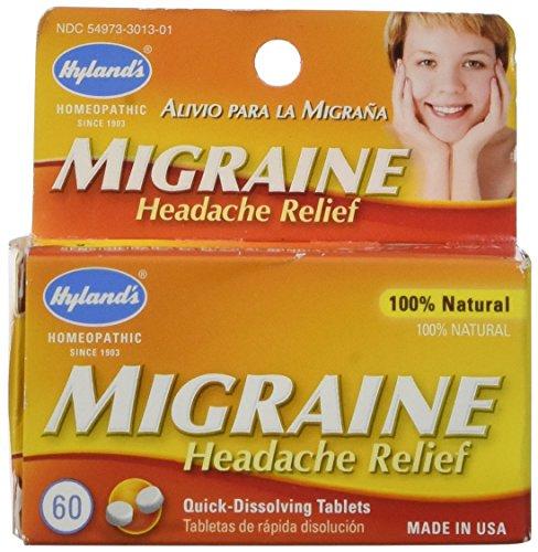 Hylands Homeopathic Migraine Headache Relief
