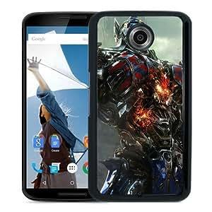 High Quality Optimus-Prime-Transformers-Age-Of-Extinction Black Google Nexus 6 Screen Phone Case Beautiful and Luxury Design