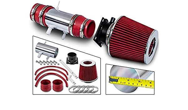 Filter Combo BLACK Compatible For 90-99 Toyota Celica ST GT GTS /… Rtunes Racing Short Ram Air Intake Kit