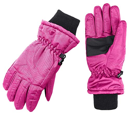 - Wantdo Women's Windproof Thinsulate Warm Ski Gloves Insulated Winter Climbing Gloves(Fushia, Small)