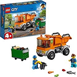 Help your child keep LEGO City clean with the neat 60220 Garbage Truck set. The industrious LEGO 4+ vehicle set is made to be fun and easy for preschoolers and younger children, featuring a sturdy garbage truck with 2-minifigure cab and tilting conta...
