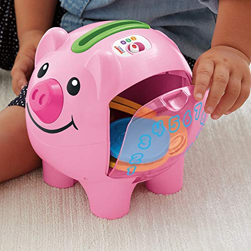 51PJUHGkFJL - Fisher-Price Laugh & Learn Smart Stages Piggy Bank [Amazon Exclusive]