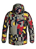 Quiksilver Mens Mission Printed - Snowboard Jacket
