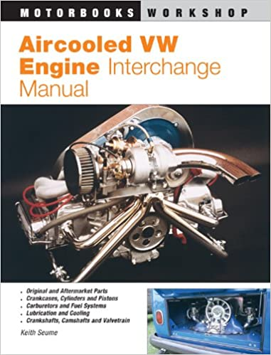 Vw Aftermarket Parts >> Aircooled Vw Engine Interchange Manual The User S Guide To
