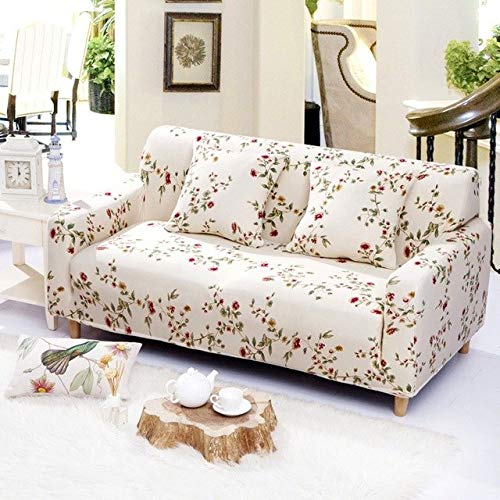 All-Inclusive Sofa Couch Cover Stretch Furniture Slipcover Elastic Slip-Resistant Sofa Cover Single Two Three Four-Seater   3, Four Seater