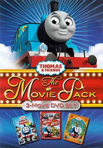 Thomas and Friends The Movie Pack (Calling All Engines! / Hero of the Rails / The Great Discovery) (Bilingual)