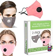 Face Cover with PM 2.5 filter, Washable, Reusable. Anti dust, Cloth face with filter