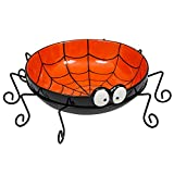 DII Ceramic Spider Halloween Candy Bowl For Treat or Tricking, Party Decoartion, Table Décor ,13 x 13 x 4.25