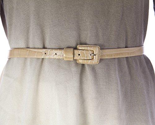 marina-rinaldi-womens-latte-embossed-skinny-belt-16w-25-beige