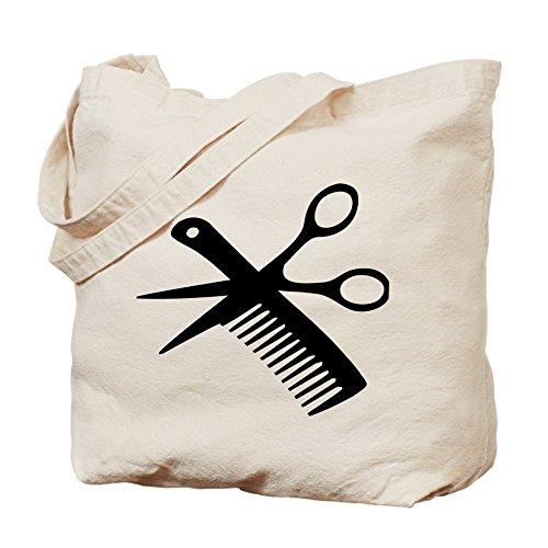 CafePress Tote Bag - barber scissors hairdresser Tote Bag by CafePress