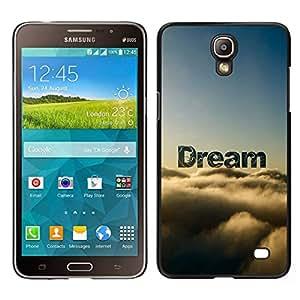 EJOY---Cubierta de la caja de protección para la piel dura ** Samsung Galaxy Mega 2 ** --Sueño Nubes Awe naturaleza Cielo Dios Esperanza