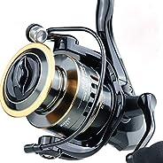 Olaf Trading Fishing Reel HE7000 Maximum Resistance 10kg 5.2:1 High-Speed Metal Spool Rotating Wheel Salt Wate