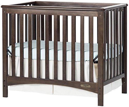Childcraft London 2-In-1 Mini Convertible Crib - Slate