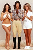 Kate Jackson and Jaclyn Smith and Farrah Fawcett in Charlie's Angels iconic hands together angels pose 24x36 Poster