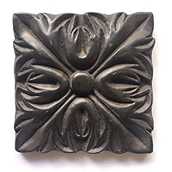 Bronze Metallic 4x4 Resin Decorative Insert Accent Piece