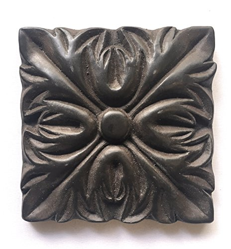 Decorative Insert Tile Flooring (Silver Rust 4x4 Resin Decorative Insert Accent Piece Tile)