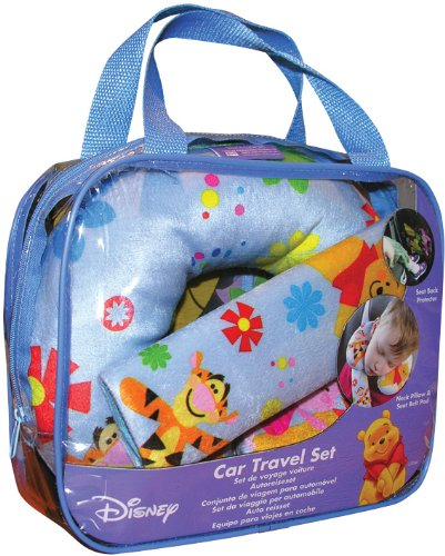 Winnie The Pooh Car Travel Set by BabyCentre