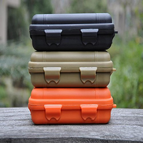 Protective Case With Foam Outdoor,Waterproof And Shockproof lightweight Small Hard Storage Box,Sealed Airtight/Watertight Container Box,Universal Travel Case for Electronics,Tools,Accessories (black) (Quality Furniture Comparison)