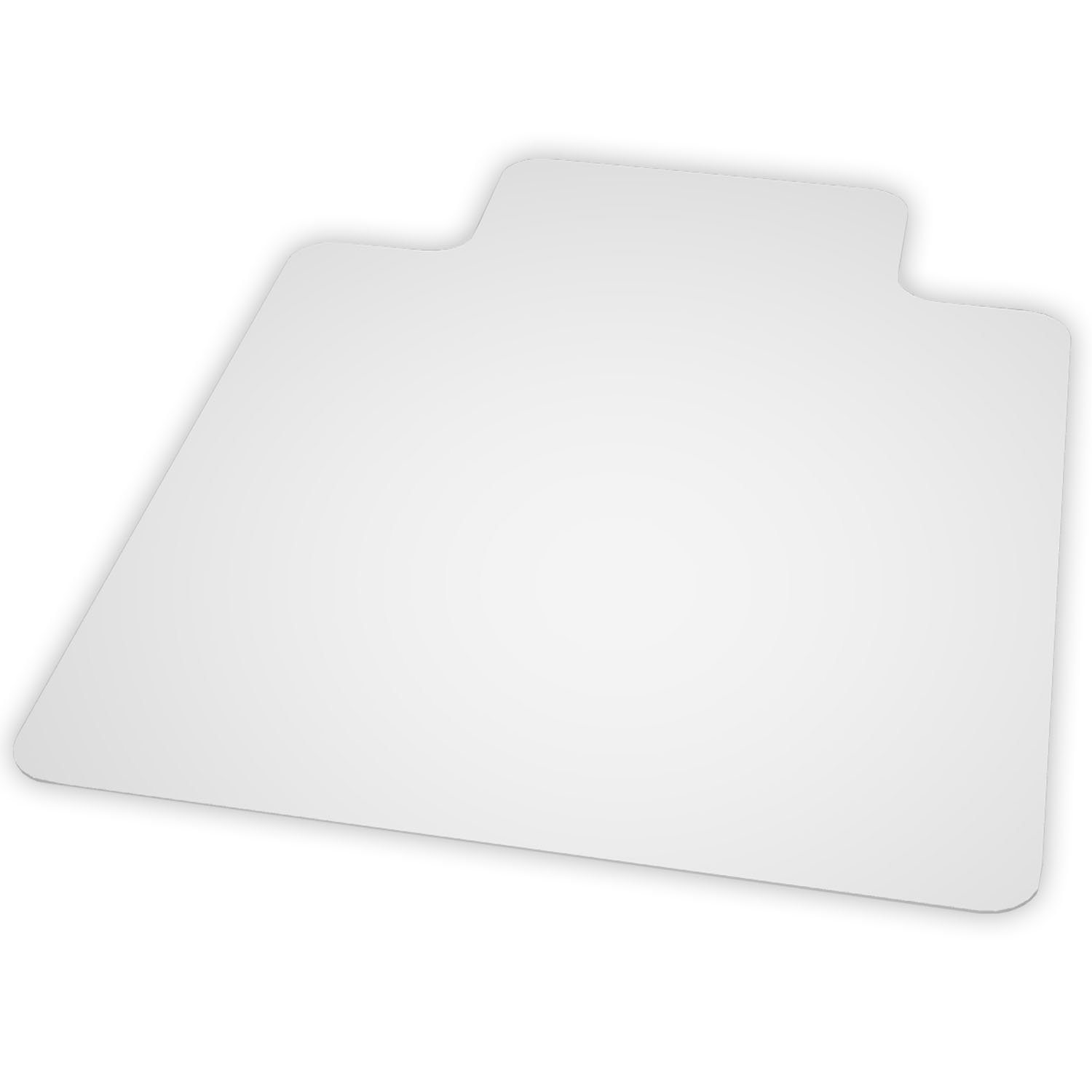 ES Robbins EverLife Hard Floor Lipped Vinyl Chair Mat, 36 by 48-Inch, Clear 131115