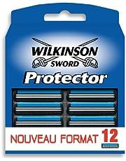 Wilkinson - Protector - Lames de rasoir pour Homme - Pack de 12