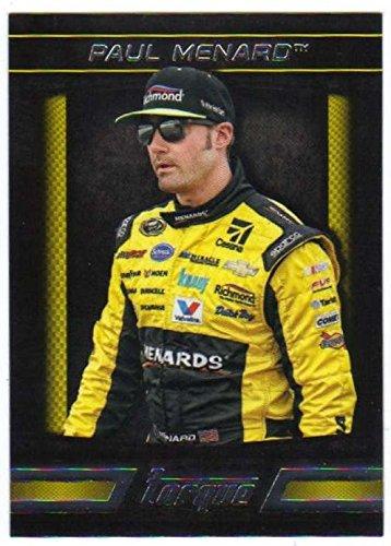 2016 Panini Torque Racing #24 Paul Menard Menards/Richard Childress Racing/Chevrolet Official NASCAR racing card from Panini - Racing Richard Childress