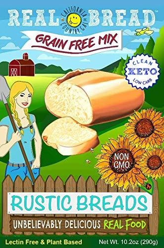 Paleo-Keto Friendly-Grain Free Rustic Bread Mix 10.2 oz 1