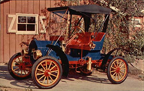 1912 Brush Runabout Cars Original Vintage Postcard