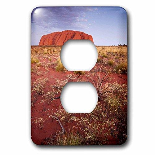 3dRose LLC lsp_69878_6 Australia, Uluru-Kata Tjuta Np, Outback, Ayers Rock-Au01 Pso0033 - Paul Souders 2 Plug Outlet Cover