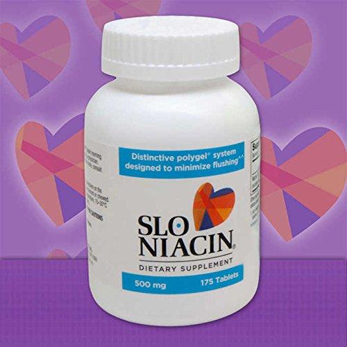 Slo-Niacin 500mg, POLYGEL Controlled-Release Niacin 150 Tablets each (Pack of - Slo Controlled Polygel Niacin