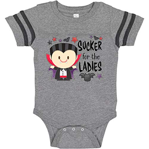 (inktastic - Sucker for Infant Creeper 18 Months Football Heather and Smoke 31640)