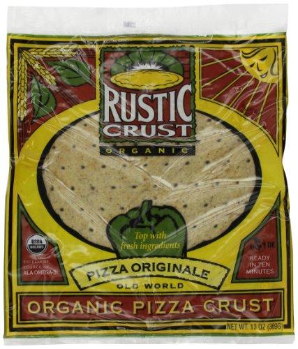 Rustic Crust Original Organic 12 inch, 13-Ounce (Pack of 4)