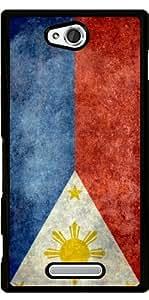 Funda para Sony Xperia C S39H - Bandera Nacional De Filipinas by BruceStanfieldArtist