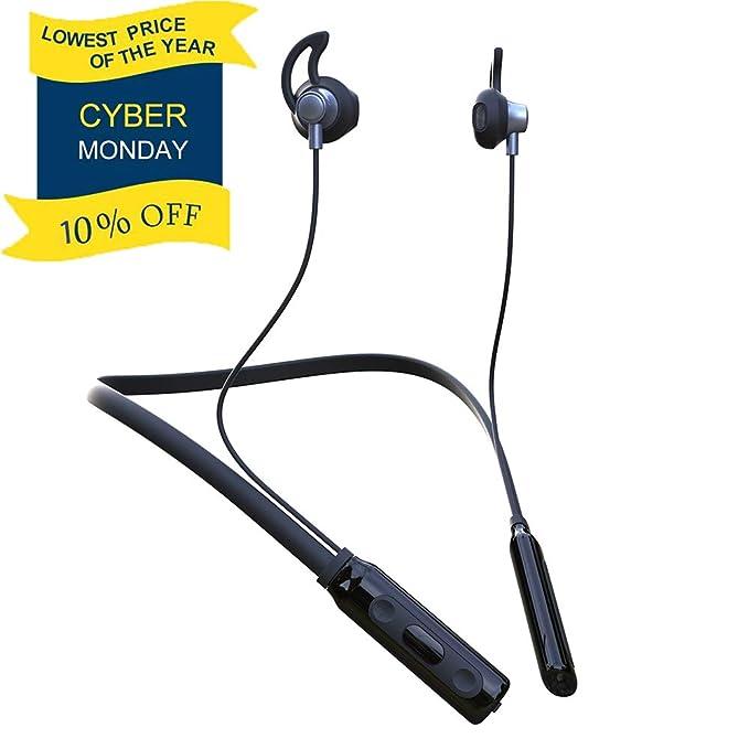 d7a583d8b67 Bluetooth Headphones Waterproof IPX5, Best 4.2 Sport Neckband Headset  Wireless Headphones Stereo in-Ear