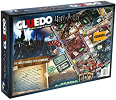 Winning Moves Cluedo Harry Potter 40X26-+9 Años, multicolor, Sin ...