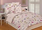 Thro Ltd. Best Friends Full/Queen Comforter Set, Multi