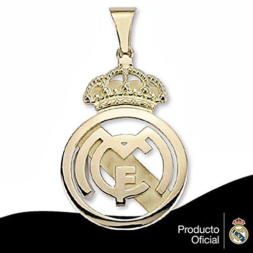 Pendentif Real Madrid bouclier 18k 40x26 or projet de loi lisse [6456] - Modèle: 30-161