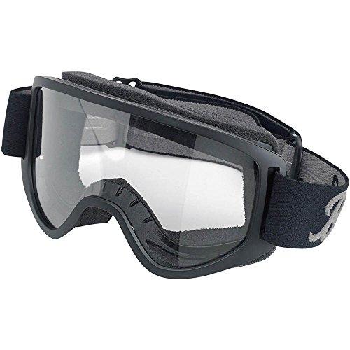 Biltwell Moto 2.0 Goggles (SCRIPT BLACK) by Biltwell