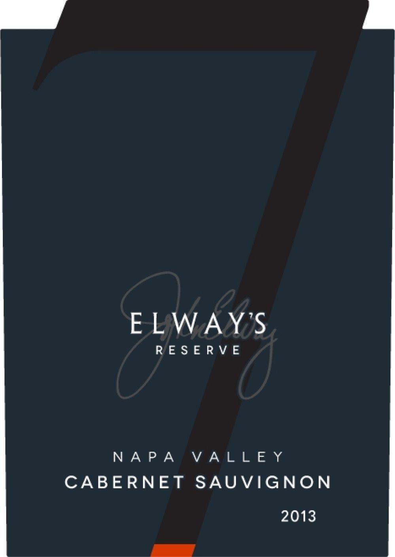 2013 elway u0027s reserve napa valley cabernet sauvignon 750ml wine at