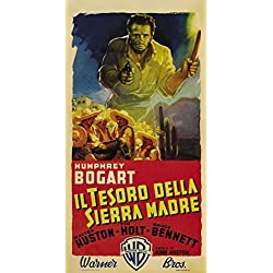 The Treasure of the Sierra Madre Poster Movie Italian 11 x 17 Inches - 28cm x 44cm Humphrey Bogart Walter Huston Tim Holt Bruce Bennett Barton MacLane Alfonso Bedoya Arturo Soto Rangel