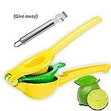 Manual Lemon Squeezer Press, Premium Citrus Press-2 In 1 Lemon/Lime Juicer