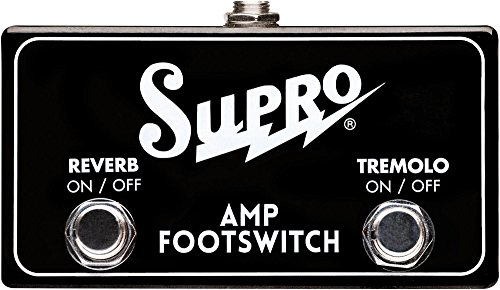 Supro SF2 Tremolo and Reverb Footswitch by Supro