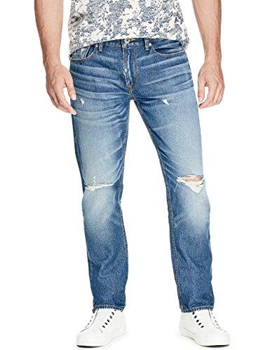 GUESS Men's Slim Straight Jeans (Mens Guess Jeans Slim)