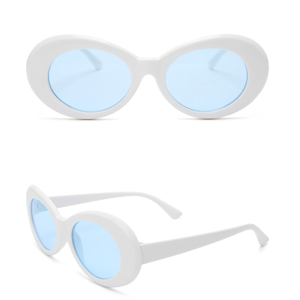 scastoe Lady Fashion Vintage gafas de sol Marco redondo ...